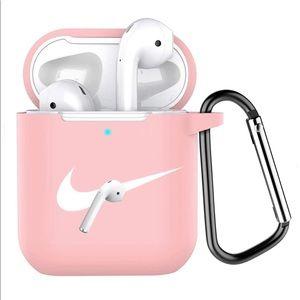 New in packaging pink nike AirPod holder's